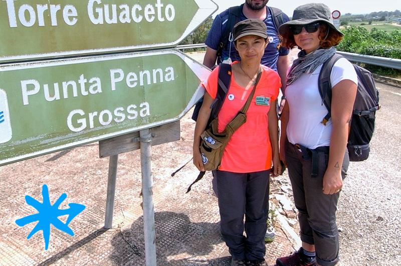 2 donne, 400km a piedi