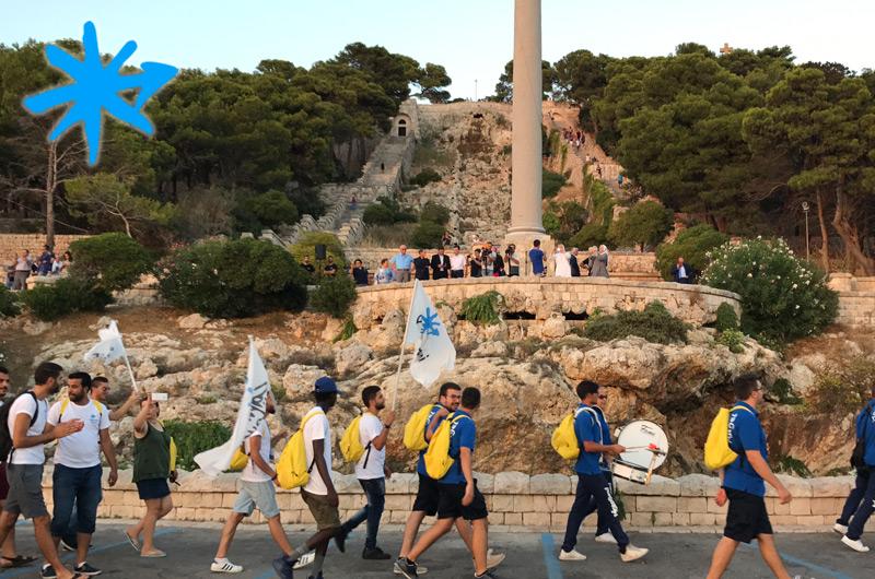 Giovani in cammino per la Carta di Leuca