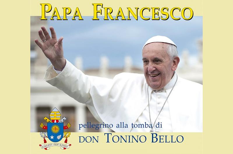 Papa Francesco pellegrino sulla tomba di don Tonino Bello