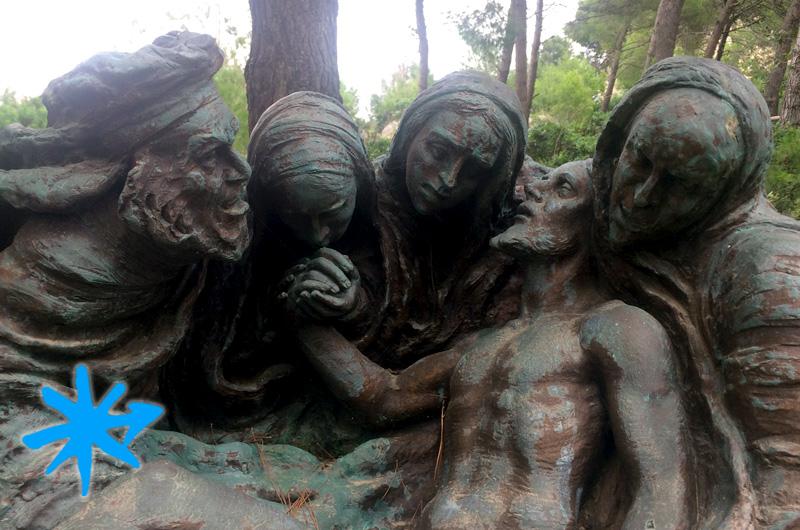 Via Crucis monumentale di Leuca